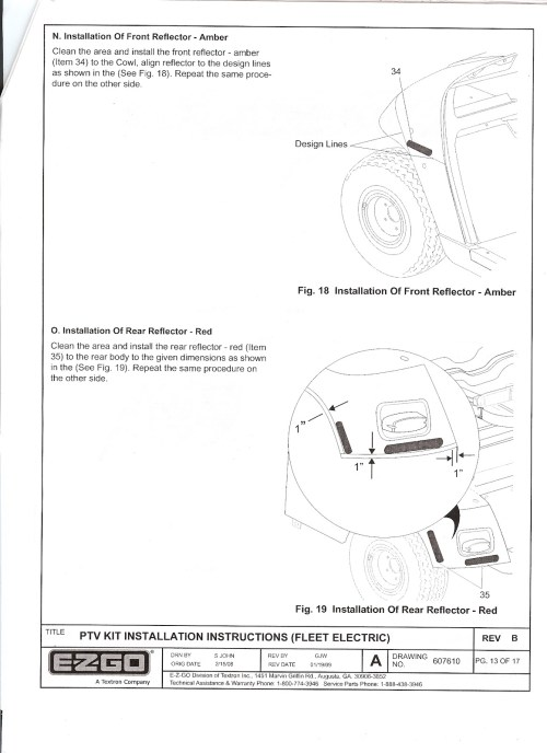 small resolution of ezgo freedom light kit installation instructions ez go freedom rxv wiring diagram ez go freedom txt
