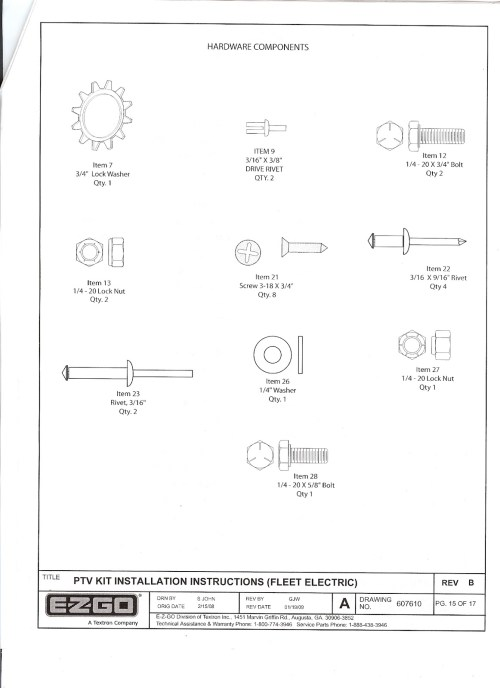 small resolution of re ezgo freedom light kit installation instructions
