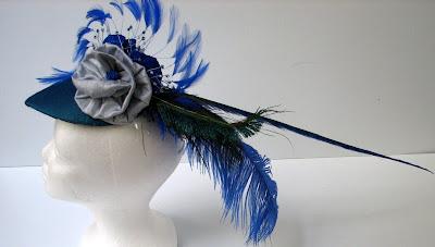 bridal hat-left side