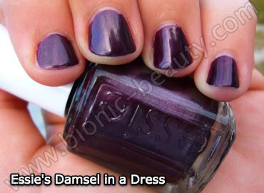 Essie nail polish - winter 2008 - Damsel in a Dress