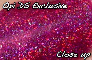 OPI Designer Series DS nail polish in Exclusive, Close up view