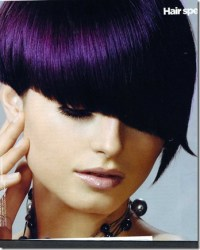 Color Me Dark: Hair Shades from Burnt Toffee to Raven ...
