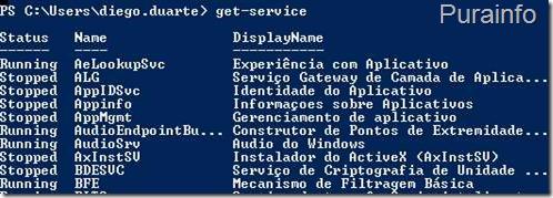 Ex. de get-service