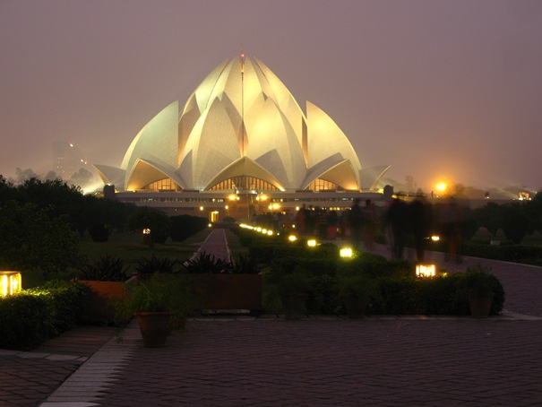 Bahá'i House of Worship a.k.a Lotus Temple (Delhi, India)
