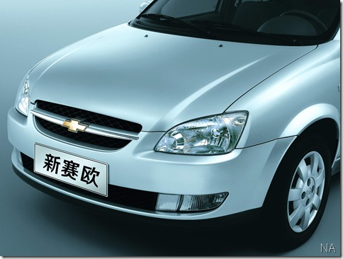 Chevrolet Sail - GM China