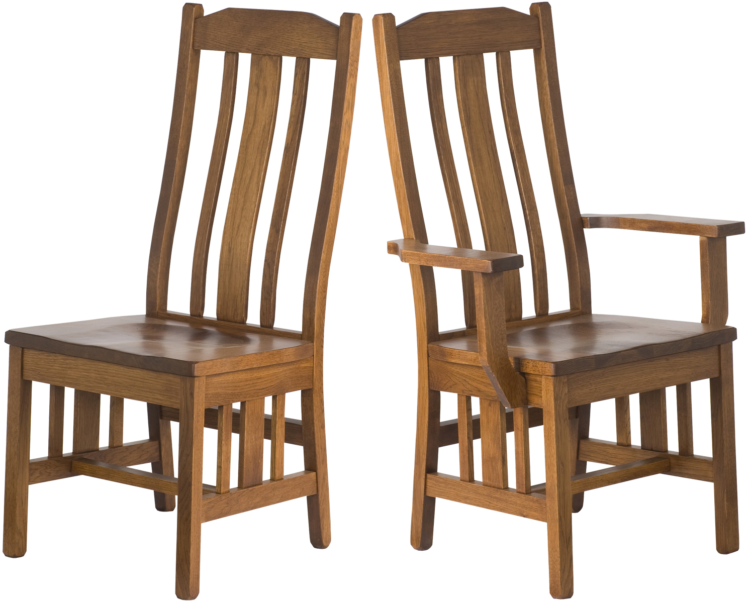 Mission Chairs Plains Mission Dining Chair Dining Room Chair In The