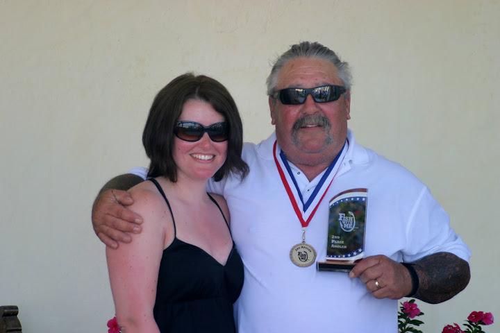 2nd Place Angler: Vic Balibrera of Livermore, California.