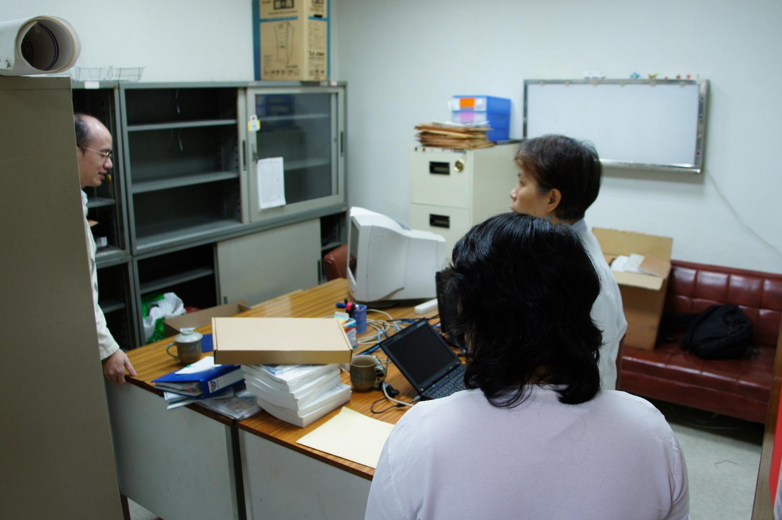 長庚分子影像 - 2010-11-08 林口核醫科辦公室拆遷