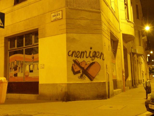 IX.ker., Lónyay u. 48. Fidesz iroda, IGEN-NEM, Budapest,  blog, graffiti,  Lónyay utca, Fidesz iroda, Bakáts utca, IX. kerület,  9. kerület,  Ferencváros, street art, tag, teg, falfirka, teggelés, writer