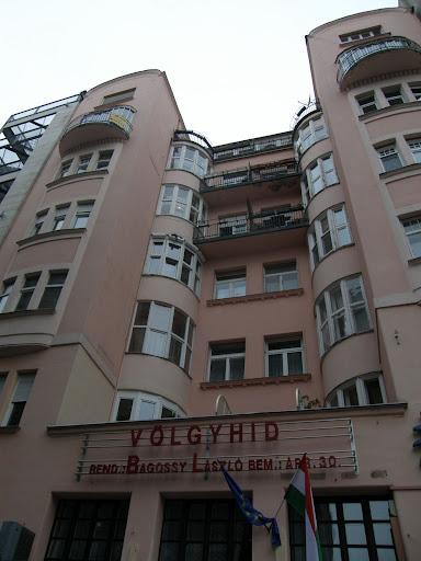 Budapest blog, előudvar