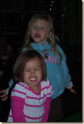 silly face girls