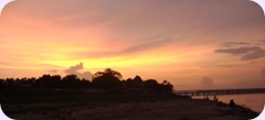 Ganga Twilight
