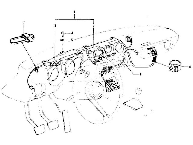 1977 Datsun 280z Wiring Harness Diagram, 1977, Free Engine