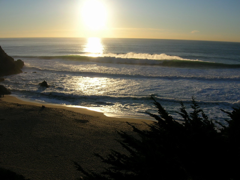 Evening at Gray Whale Cove