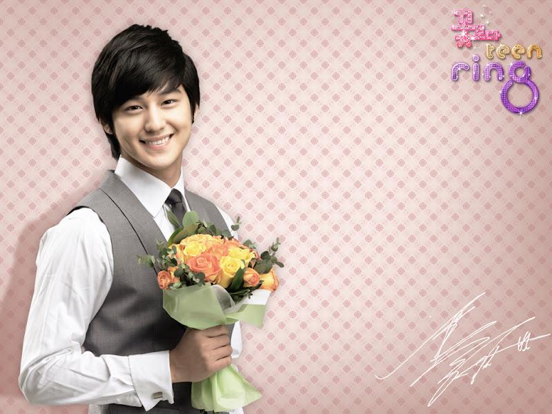 Kim Beom (Kim Sang Bum) Pemeran Soo Yi Jung F4 Korea Boys Before Flowers