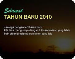 Semangat Baru di Tahun Baru 2010
