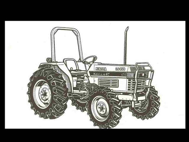 Kubota L4350 L4850 L5450 L 4350 5450 Tractor Manual for sale