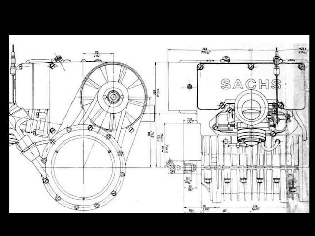 SACHS SNOWMOBILE SA-2-440 SA-280 SA-290 ENGINE MANUALs for