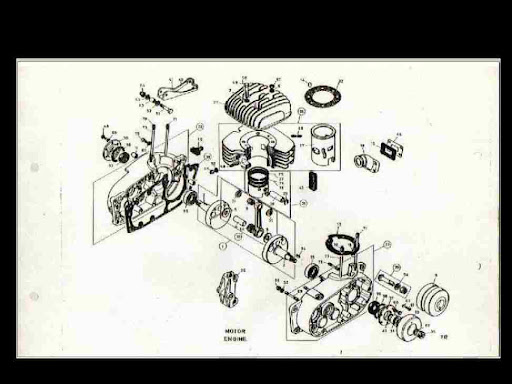 BULTACO Cemoto ALPINA PARTS DIAGRAM MOTORCYCLE MANUAL for sale