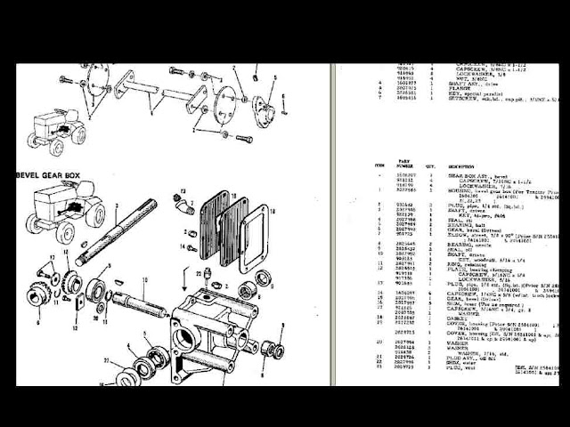Allis Chalmers 400 410 414 M 416 s Tractor Manuals Set for