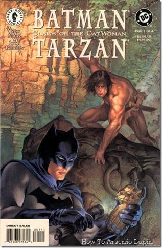 2011-08-09 - Batman y Tarzan - Las garras de la gata