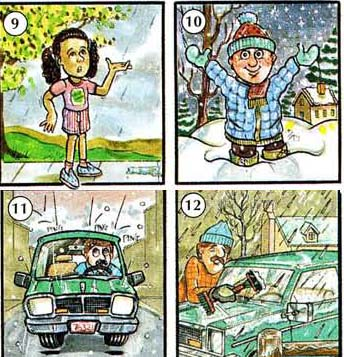 THE%20WEATHER%20AND%20SEASONS 3 Temperature – Weather   Seasons events english through pictures