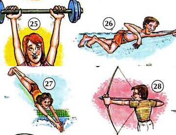 SPORT%20AND%20EXERCISE%20ACTIONS 7 Sport, exercise actions people english through pictures