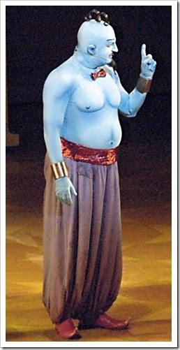 Ideas para un disfraz casero de Genio de Aladdin