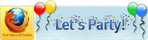 Celebración 5 Años Firefox