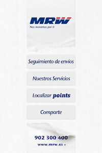 MRW Transporte Urgente screenshot 0