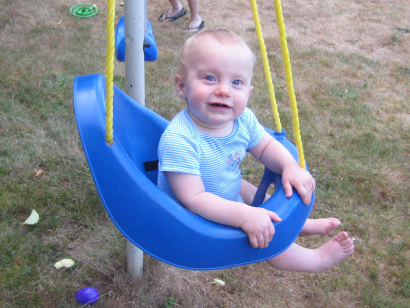 Thane loves swings