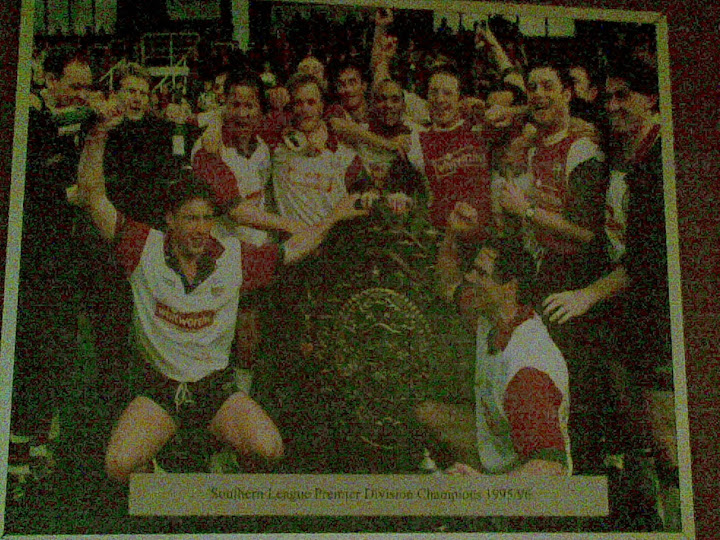A photo in Striker... a reminder of good times.
