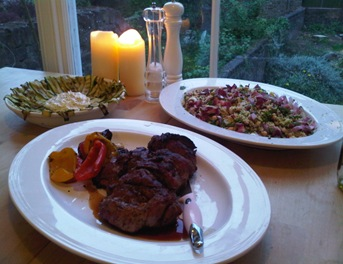 Libby's Ottolenghi feast