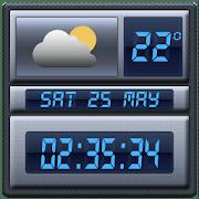 edb771a7480 Widget relogio digital tempo apk 2017 descargar - Baixar APK Android ...
