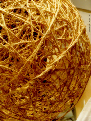 Artesanato feito com fibras tipicas da Amazônia