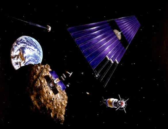 SPS and Asteroid