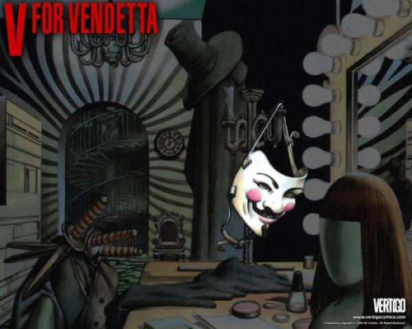 V-for-Vendetta Wallpaper