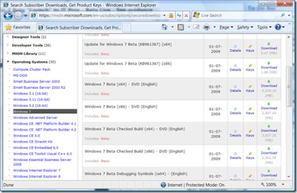 Windows7MSDN
