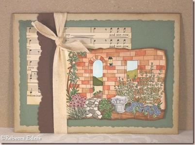 stone wall garden music