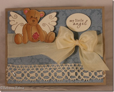 vintage angel bear