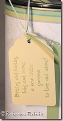 baby pail tag left