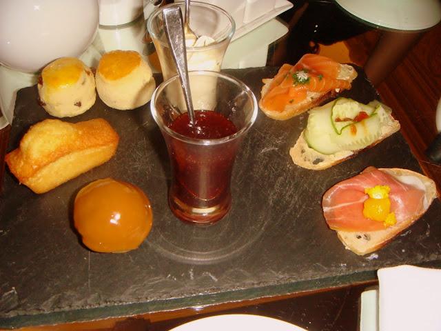sandwiches, tea, cakes and scones!