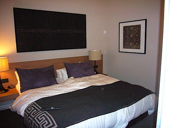 My gorgeous hotel room