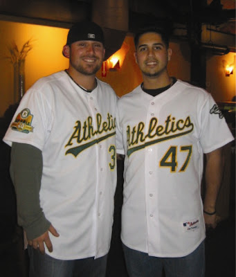 I was under the impression that all the hot pitchers had left Oakland.  Guess I was wrong!
