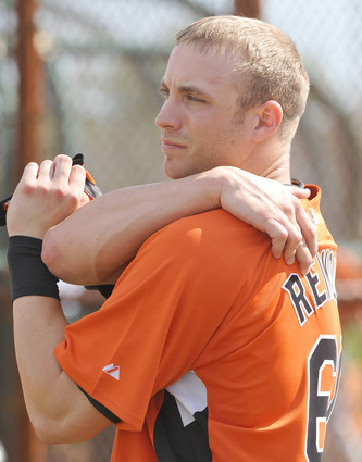 Nolan is my new Oriole love.  He caught my eye with his awesome play and kept it with his stellar looks!
