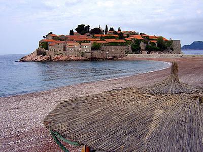 адриатическо море будва плаж свети стефан