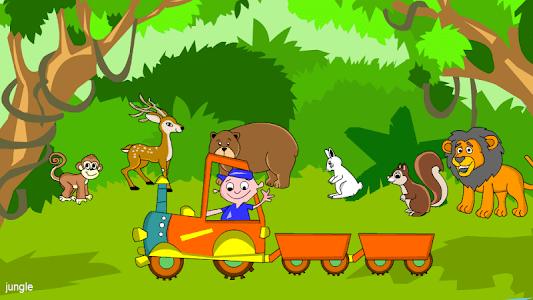 Kids Animal Game-Zoo TrainFULL screenshot 5