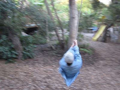Jeff on the swing