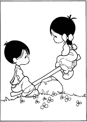Pinto Dibujos Precious Moments Dibujos Del Amor Y La Amistad