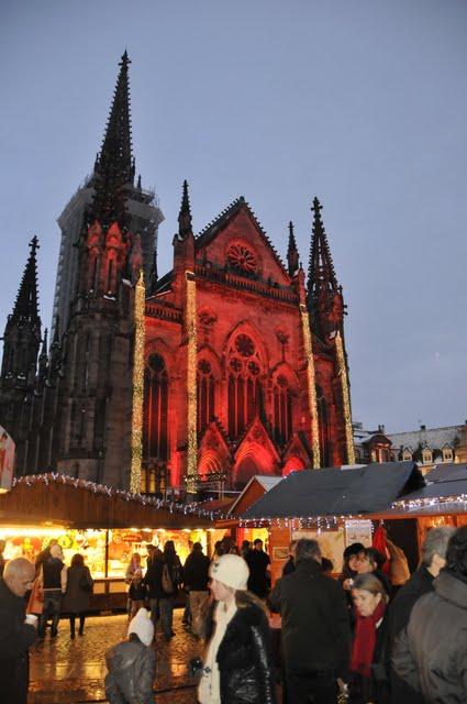 Weihnachtsmarkt in Mulhouse